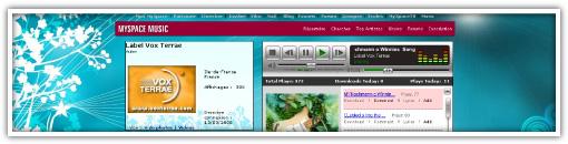 Vox Terrae sur Myspace