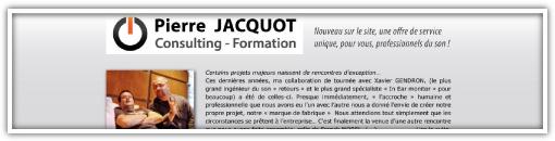 Formation pierre JACQUOT, le micro-site est ouvert !
