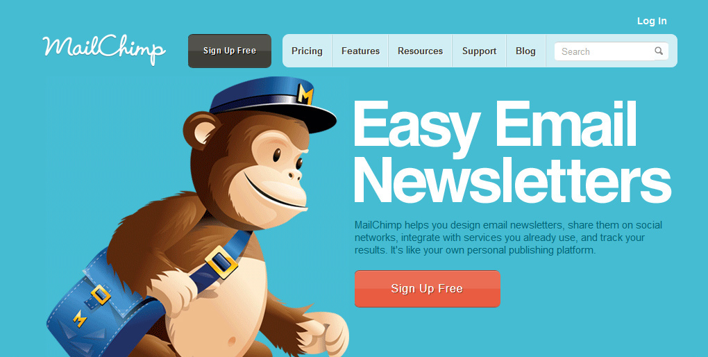 MailChimp, you should improve it