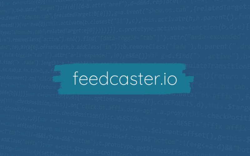 feedcaster.io
