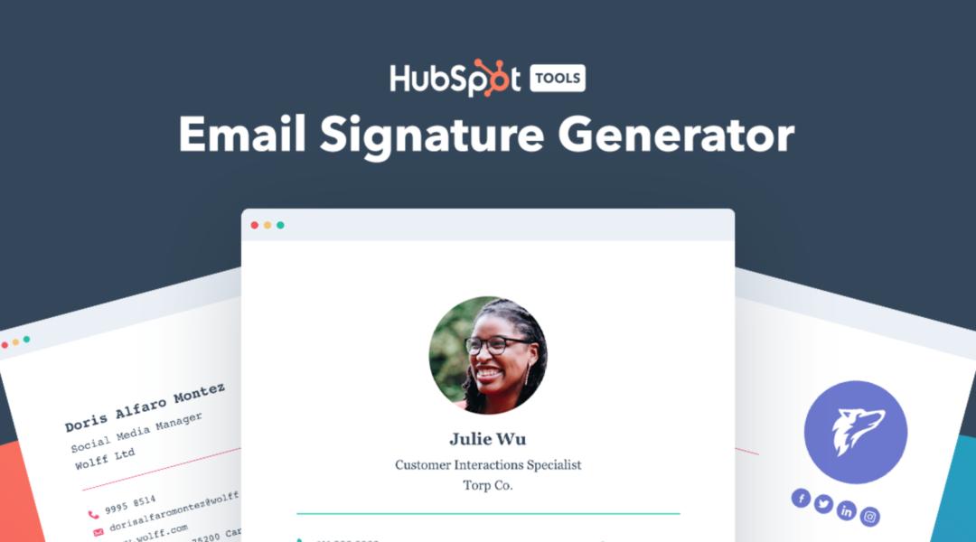 Créez une signature professionnelle pour vos emails
