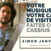 Votre musique est votre carte de visite professionnelle : faites comme Cassius !
